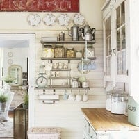 My Dream Home: Shabby Chic Kitchen Decor Inspirations
