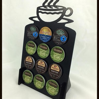 12 K Cup Dispenser Coffee Keurig & tree pod holder Acrylic