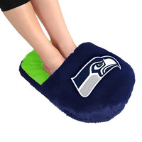Seattle Seahawks Official NFL Team Logo Plush Feetoes