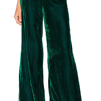 House of Harlow 1960 x REVOLVE Mona Belted Pant in Emerald | REVOLVE