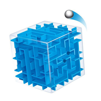 3D Mini Speed Cube Maze Puzzle - Toy for Children and Adults