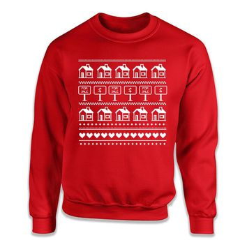 Real Estate Agents - Ugly Christmas Sweater - T Shirt