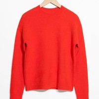 & Other Stories | Knit Sweater | Orange