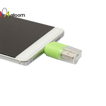 Top Quality MINI OTG Micro USB to USB 2.0 Micro SD TF Card Reader Adapter For Android Phone