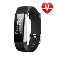 Fitness Tracker Watch Fitbit Bluetooth Activity Monitor Smart Running Heart Rate