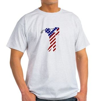 USA Mens Golf Light T-Shirt