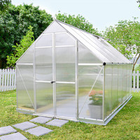 Essence 8 x 12 Hobby Greenhouse Kit