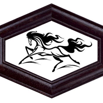 Cross stitch pattern HORSE-PDF-Instant Download-Counted cross stitch-Grafitti Art-Tattoo Design-needlecraft-needlepoint-Animal pattern