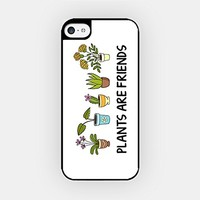 for iPhone 6/6S - High Quality TPU Plastic Case - Plants Are Friends - Vegetarian - Tree - Cactus - Nature - Environment