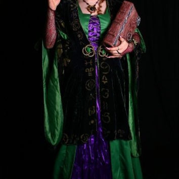 Hocus Pocus Bette Midler Winifred ROBE Costume Prop