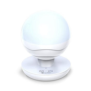 OxyLED P01 Multifunctional Portable LED Globe Night Light/Camping Lantern/Tent Light - White