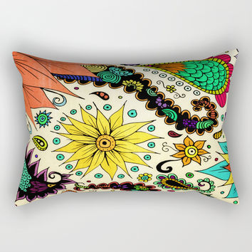 Botanic Rectangular Pillow by duckyb