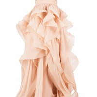 Women - Reem Acra Embellished Ruffled Dress - L'Eclaireur Shop