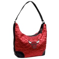 Chicago Bulls NBA Quilted Hobo