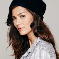 Free People Time Capsule One Strap Beanie