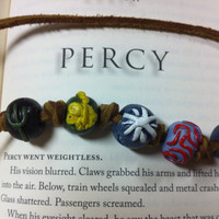 PERCY JACKSON necklace , Camp Half-Blood Necklace , The Lightning Thief , PJO geekery