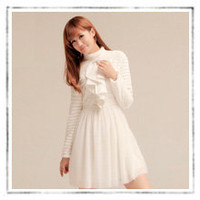 fleece polka dot tulle dress : Asian iCandy Store, Indie Clothing, Modern Asian & Japanese Fashion
