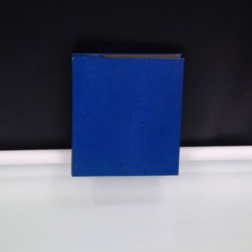 4 by 6 Photo Album Holds 200 Photos  Blue Faux Leather