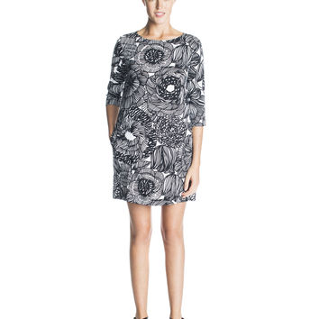 KIRIMA 2 MARIMEKKO DRESS BLACK/WHITE