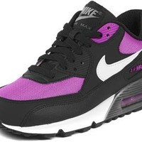 Nike Air Max 90 2007 (GS) Girls Running Shoes 345017-500 Viola 4.5 M US