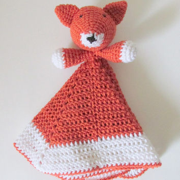 Fox Lovey PDF Crochet Pattern INSTANT DOWNLOAD