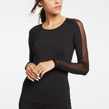 Michi Bolt Running Top - Black