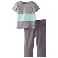 7 For All Mankind Baby Boys Infant Jean Outfit