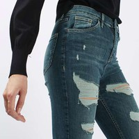 MOTO Extreme Rip Authentic Denim Jamie Jeans - New In This Week - New In