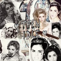 Marina and the Diamonds: The archetypes -> Teen Idle Art Print by More than LDD