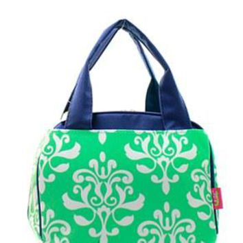 Lunch Tote Damask Bloom - 2 Color Choices