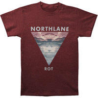 Northlane Men's  Rot Cover T-shirt Maroon