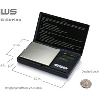 AWS Digital Scale 2000g x 0.1g Jewelry Gold Silver Coin Gram Pocket Herb Grain B