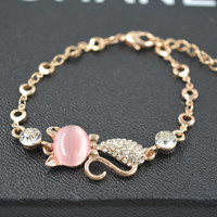 Gift New Arrival Hot Sale Shiny Awesome Great Deal Korean Stylish Cats Accessory Jewelry Bangle Bracelet [10417739668]