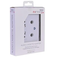 Vivitar Infinite Audio Cassette Adapter - Play Any Device w/3.5mm Jack On Your Cassette Player!