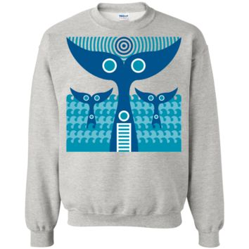 Whale Tails Sweatshirt T-Shirt