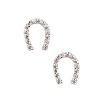 Sole Society Mini Horseshoe Studs