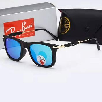 Ray-ban sells high-definition glass sunglasses for casual men and women