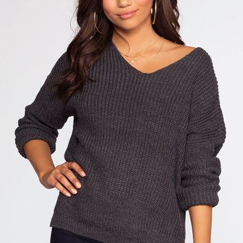 Hattie Sweater - Charcoal