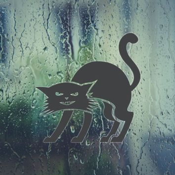 Cat Vinyl Wall Decal - Removable (Indoor)