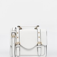 ASOS Scallop Satchel Bag