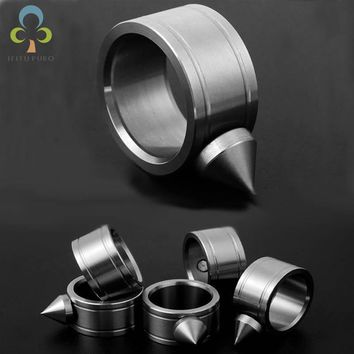 Self-defense Product stainless steel Self Defense Tool Shocker Weapons Survival Ring Outdoor EDC Kit WYQ