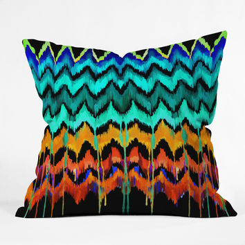 Holly Sharpe African Essence Throw Pillow