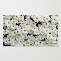 Daisyland Area & Throw Rug by Armine Nersisian | Society6