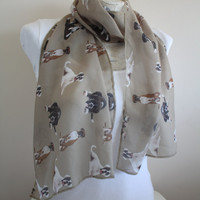 Boxer Dog Scarf, Dog Infinity Scarf, Boxer Dog Gifts, Birthday Gifts, Womens Gift, Trending İtems