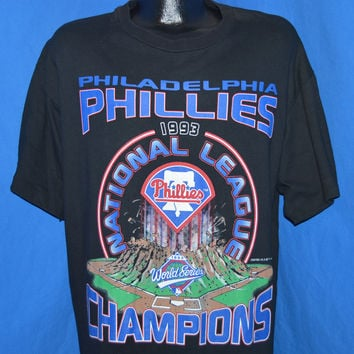 90s Philadelphia Phillies 1993 World Series t-shirt Extra Large