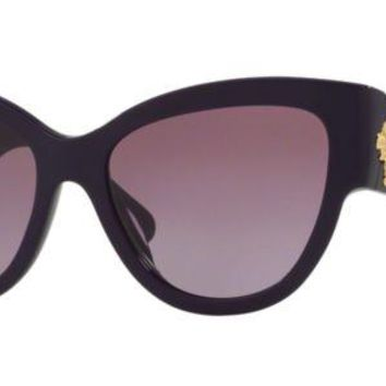 DCCK3SY Versace VE4322 50648H 55MM CatEye Sunglasses Violet / Violet Gradient Lens