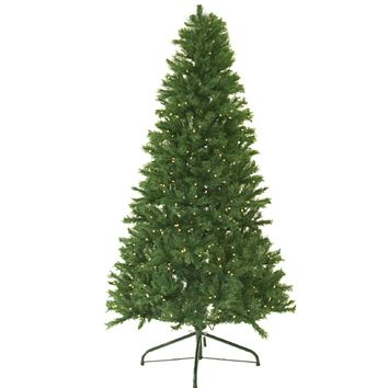 4' Pre-Lit Canadian Pine Artificial Christmas Tree - Candlelight LED Lights