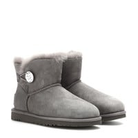 ugg australia - mini bailey button bling ankle boots
