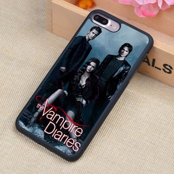The Vampire Diaries Poster Style Soft Rubber Back Case Cover For iPhone 6 6S Plus 7 7 Plus 5 5S 5C SE 4 4S Mobile phone bag