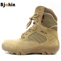 Bjakin Hiking Climbing Shoes DELTA Professional Waterproof Hiking Boots Tactical Boots Outdoor Mountain Climbing Sports Sneakers